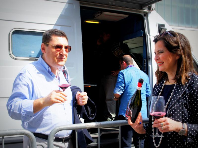 Lucia con Bruno Gambacorta